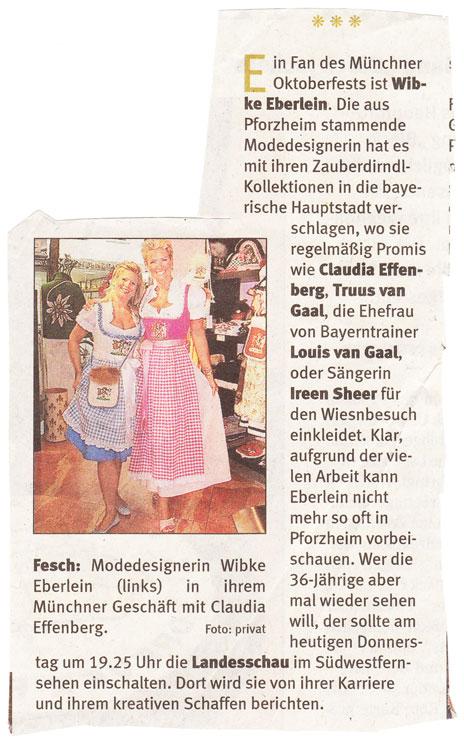 Wibke Eberlein in ihrem Münchner Geschäft